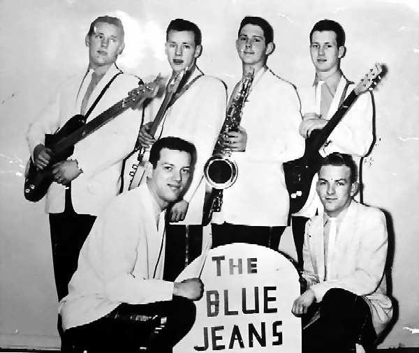 The Blue Jeans - Photo Courtesy of Daryl Bredesen