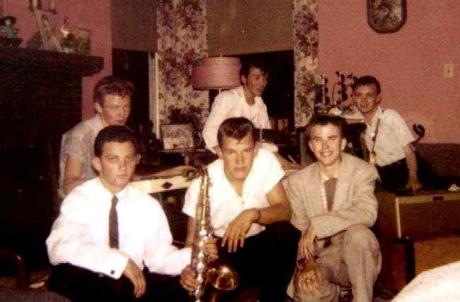 Little Bill and the Bluenotes - 1958, Courtesy of Frank Dutra