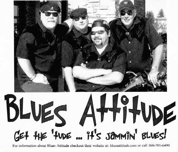 Blues Attitude - Photo Courtesy of Stan Foreman