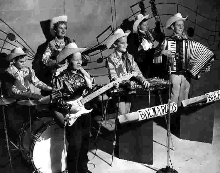 The Buckaroos - Courtesy of Corky Bennett