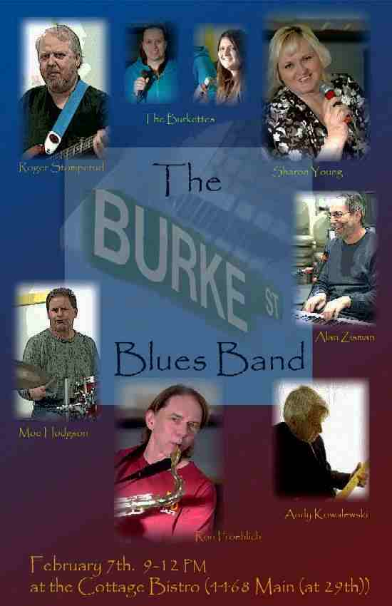 Burke St Blues Band - Image courtesy of Roger Stomperud