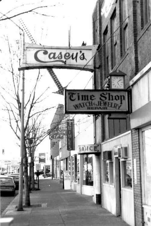 Casey's in 1992 - Photo by and Courtesy of  Dave Schelly