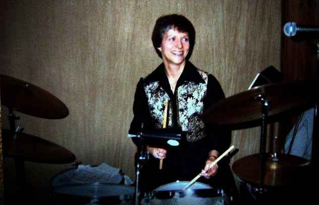 Barb Bayly began playing drums at the age of 3