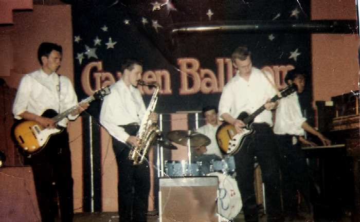 The Continentals at the Garden Ballroom - Photo Courtesy of Larry Fedyk