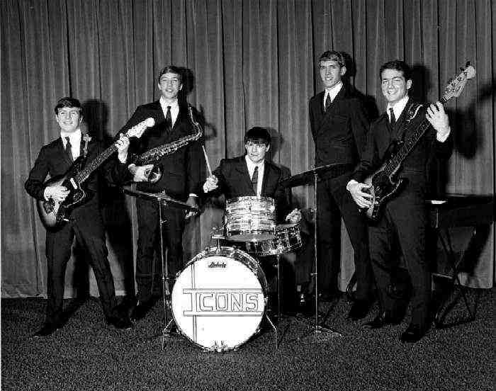 The Icons in about 1966 - Photo COurtesy of Gil Pierson