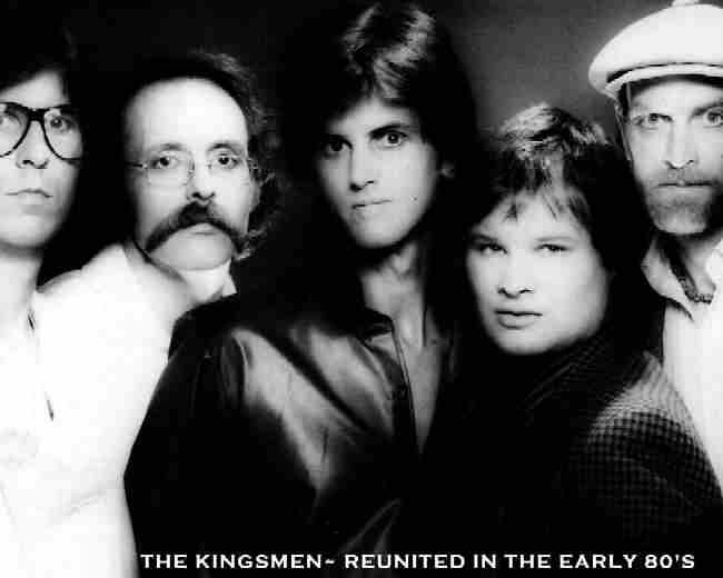 The Kingsmen in about 1982 - Photo Courtesy of Monte von Struck