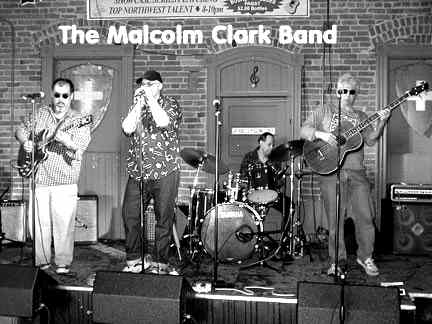 Malcom Clark Band - Photo Courtesy of Dennis Dudley
