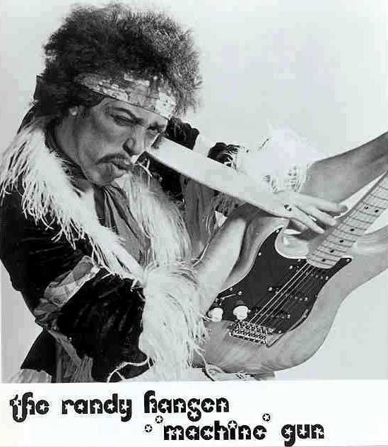 Randy Hansen's Tribute to Jimi Hendrix - Photo courtesy of Chuck Burbank