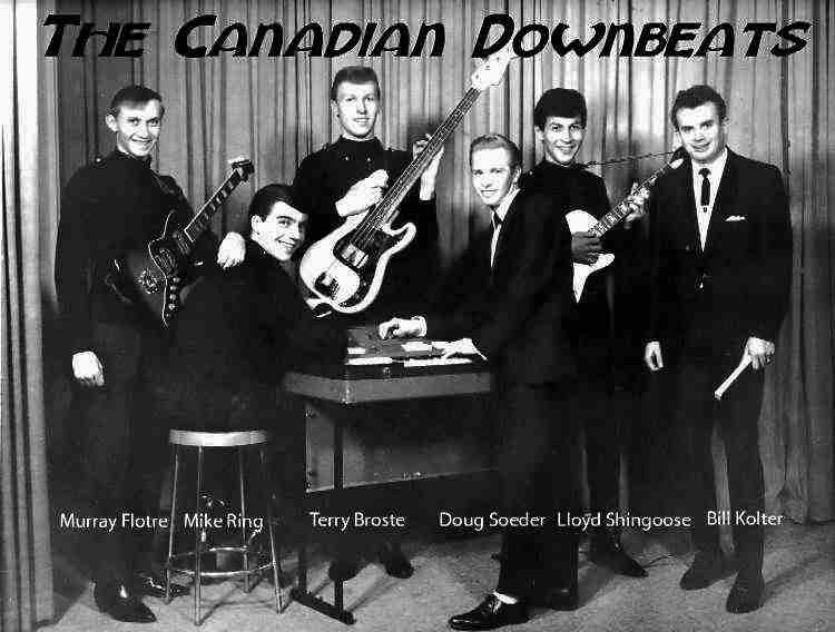 Canadian Downbeats - Image courtesy of Murray Flotre