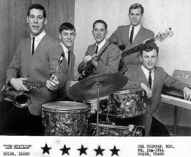 The Mystics - 1963 - Image courtesy of Tim Woodward