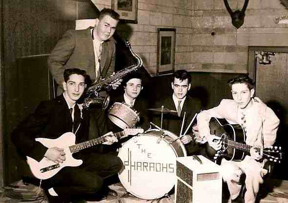 The Pharaohs in 1960 - Photo courtesy of Ron Attfield