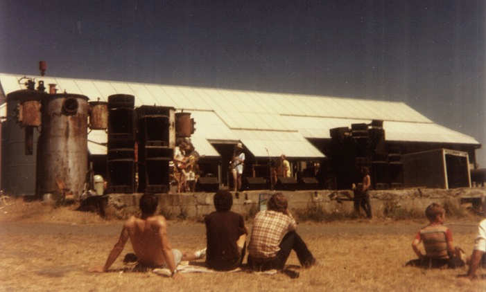 Papaya performing at Seattle's Gasworks Park - Photo Courtesy of Reid Merryman