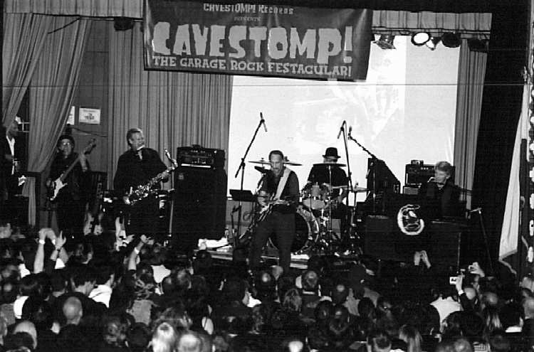 The Sonics - Cavestomp 2007 - Photo Courtesy of Don Wilhelm
