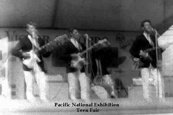 The Shags at the Pacific National Exhibition Teen Fair - Courtest of Stan Boutilier