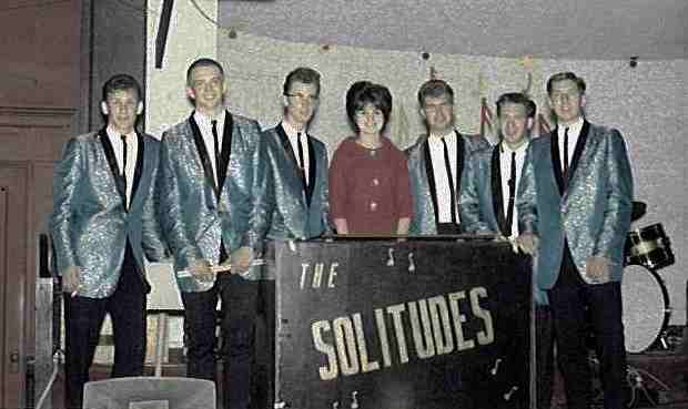 The Solitudes at the Crescent Ballroom - Tacoma - 1964 - Photo Courtesy of Rudy Bachelor