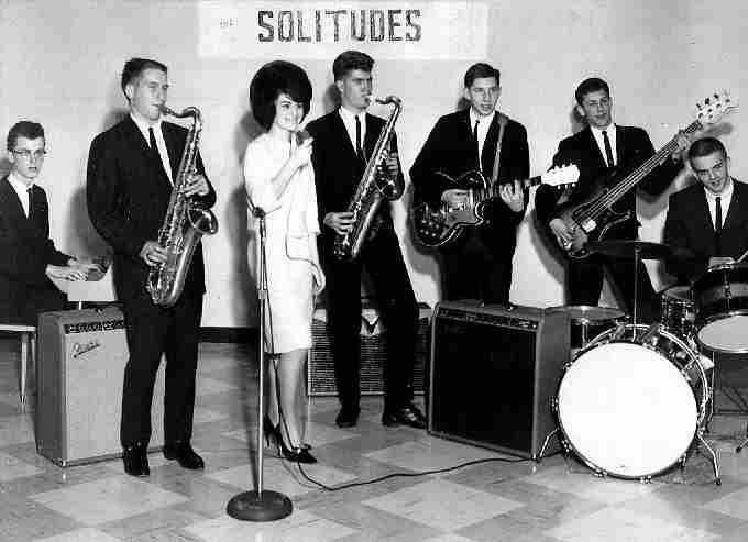 The Solitudes in 1963 - Photo Courtesy of Rudy Bachelor
