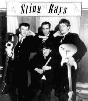 The Stingrays in '63