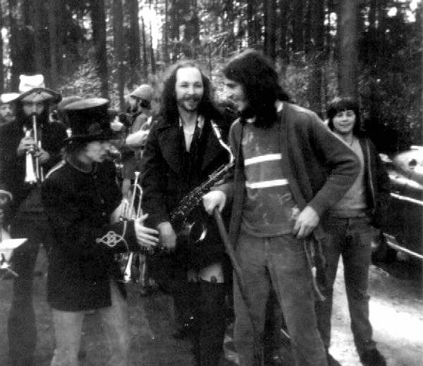 Easter Be-In in Stanley Park, CA... spring 1971.  Courtesy of Roger Stomperud