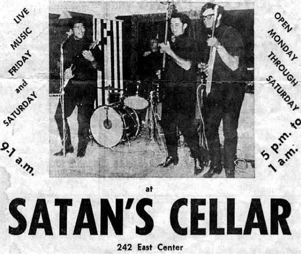 The Tidals at Satan's Cellar - Photo Courtesy of Larry Roberts.