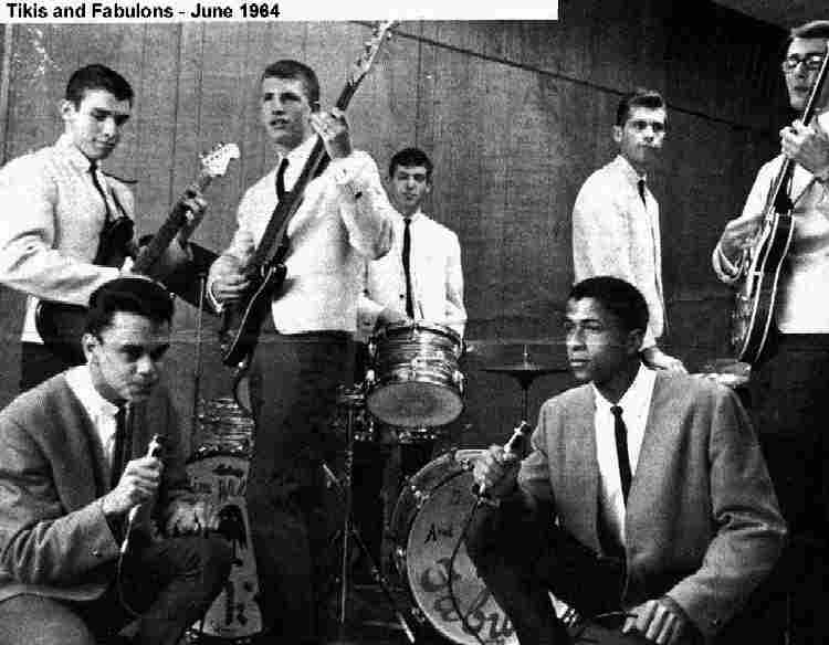 Tikis & The Fabulons - 1964 - Courtesy of Michael Roholt.  This picture was in the Oregonian article for the Teen Fair at Memorial Coliseum.