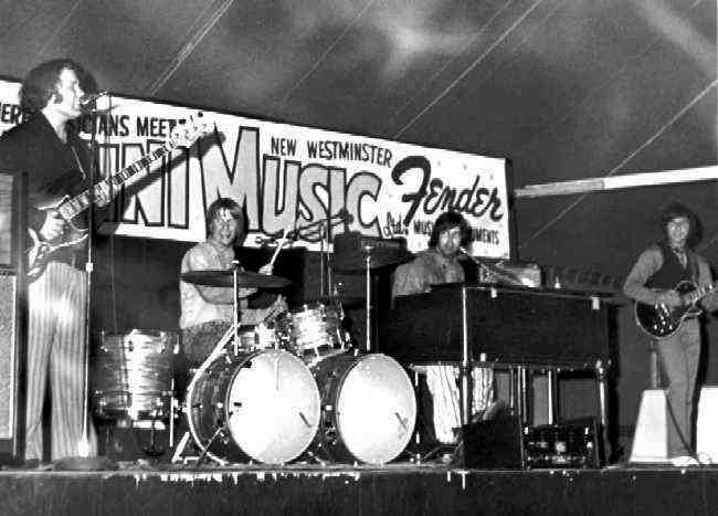 The Trolly Live - 1969   Photo Courtesy of Peter Scheldt