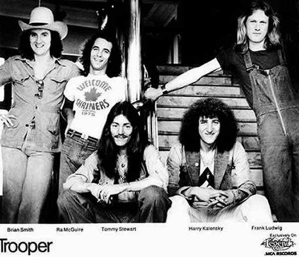 Trooper - 1976 Promo Photo - Courtesy of Harry Kalensky
