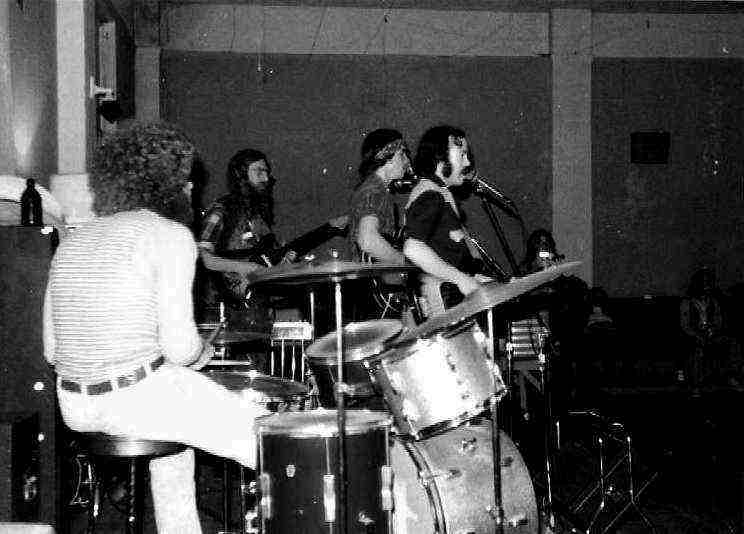 Turkey Run playing at the WOW Hall in Eugene - Spring, 1974