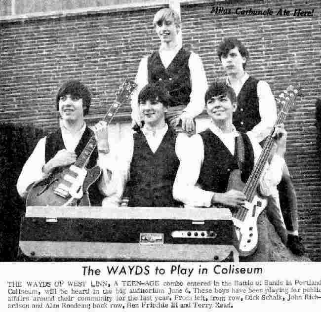 The WAYDS - Photo Courtesy of Dick Schalk