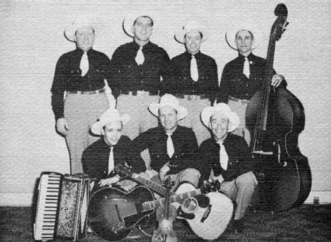 Roger Crandall and the Barn Dance Boys - Photo Courtesy of Mike Hall