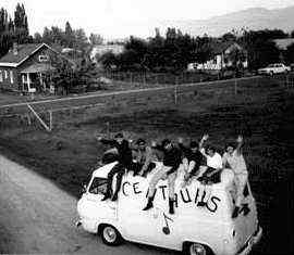 Centaurs in the Okanagen - 1965 - Photo Courtesy of John Gedak