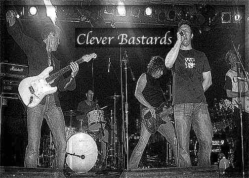 The Clever Bastards - photo shamelessly 'borrowed' from their website.