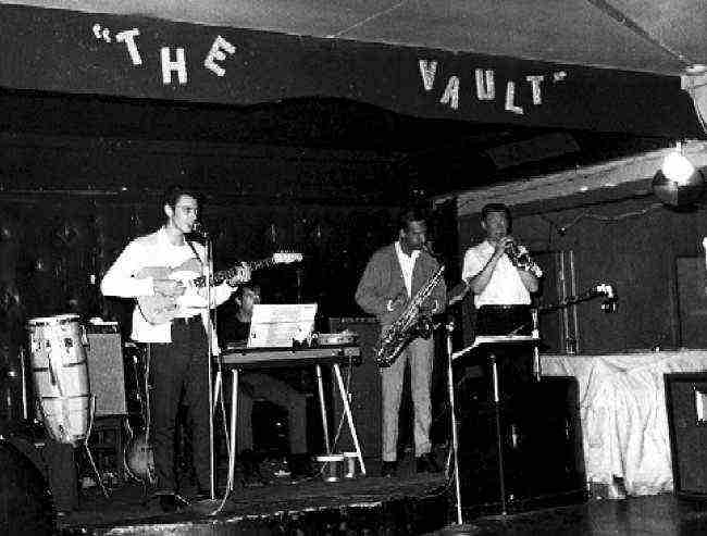 The Floaters at the Vault in 1967 - Courtesy of Ron Beltz