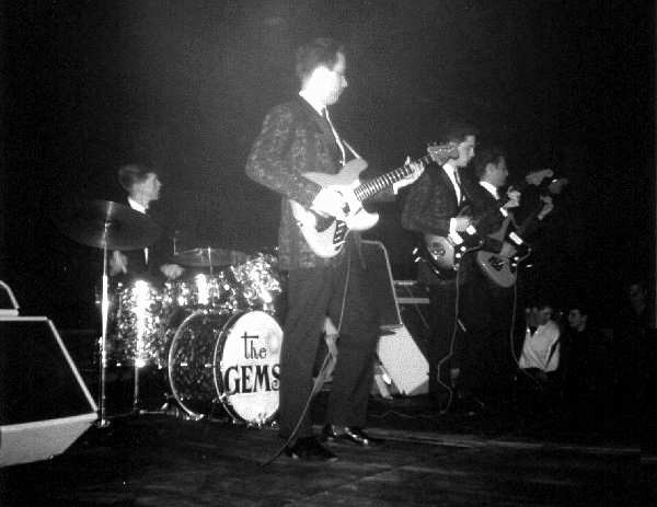 The Gems - May 1963 - Photo by and Courtesy of Larry Kulai