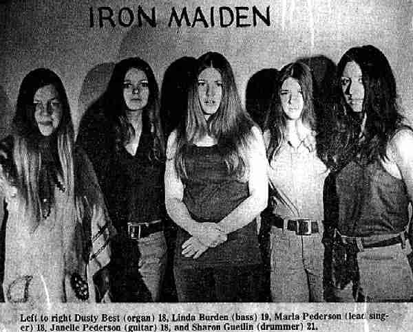 Iron Maiden - Photo Courtesy of Sharon Guetlin Rockett