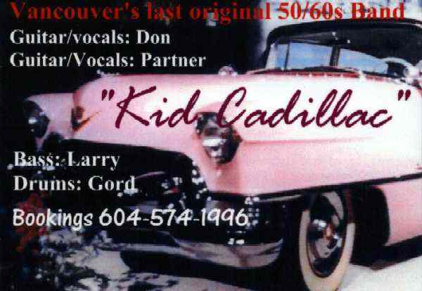 Kid Cadillac - Vancouver, BC - Image Courtesy of Chris Wolfe