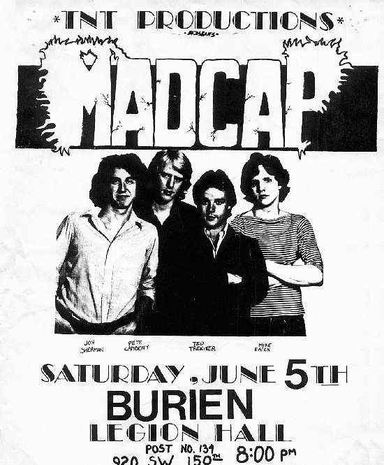 Madcap - Seattle - Image Courtesy of Pete Lamberty