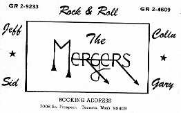 The Mergers - Image courtesy of Jeff Morgan