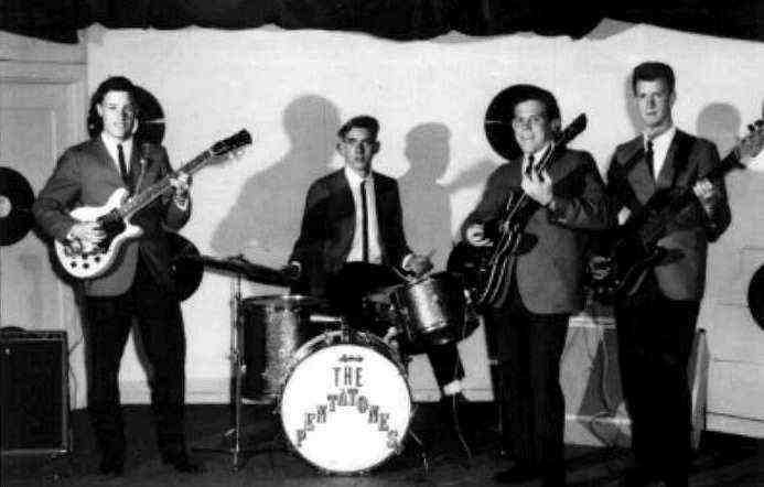 The Pentatones in 1962 - Photo Courtesy of Les Engle