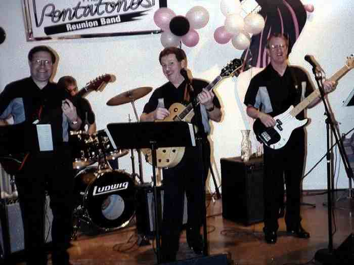 The Pentatones Reunion Band - Photo Courtesy of Les Engle