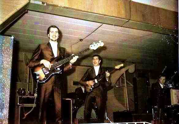 Pharaohs at the fleet club probably in '69 - 70 - Courtesy of Ron Attfield