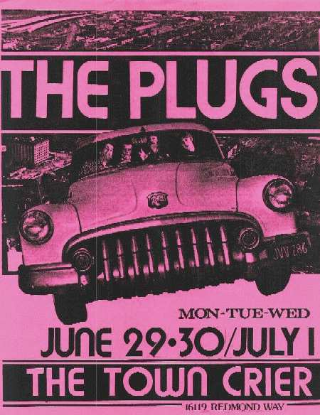Plugs poster courtesy of Ed Busey