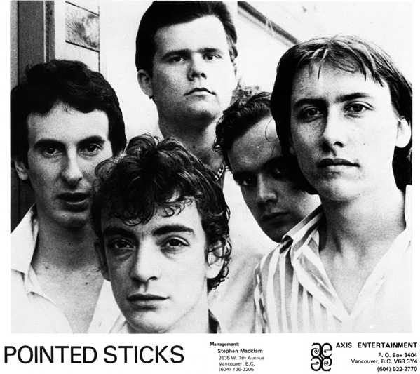 Pointed Sticks - Photo Courtesy of Alan Burns