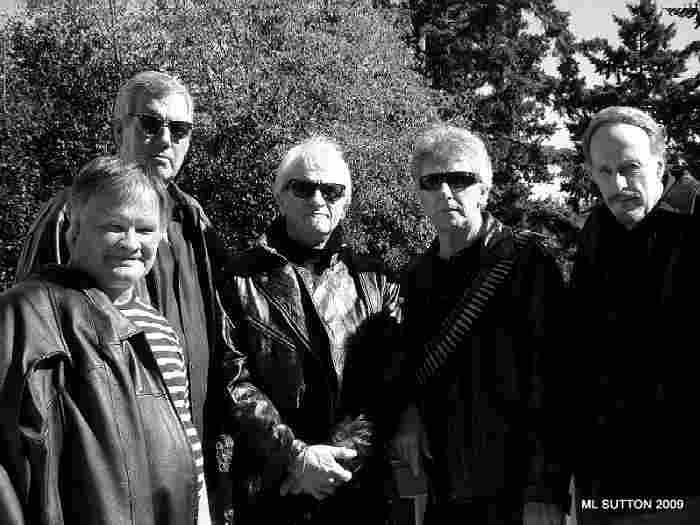The Sonics in 2009 - Photo by and Courtesy of Merri Sutton