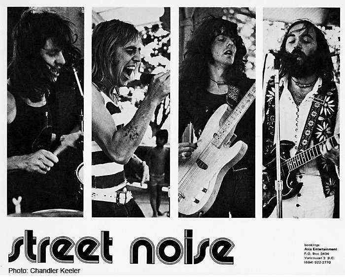 Street Noise - Image by and courtesy of Chandler Keeler
