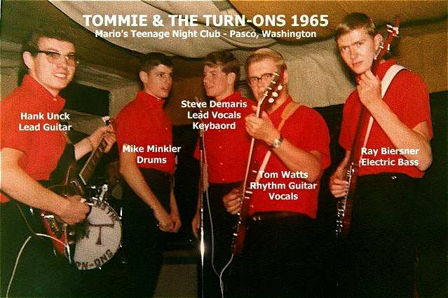 Tommie & The Turn-Ons photo courtesy of Hank Unck